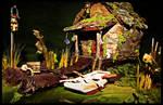'Bayou Backwoods' Faerie Cottage