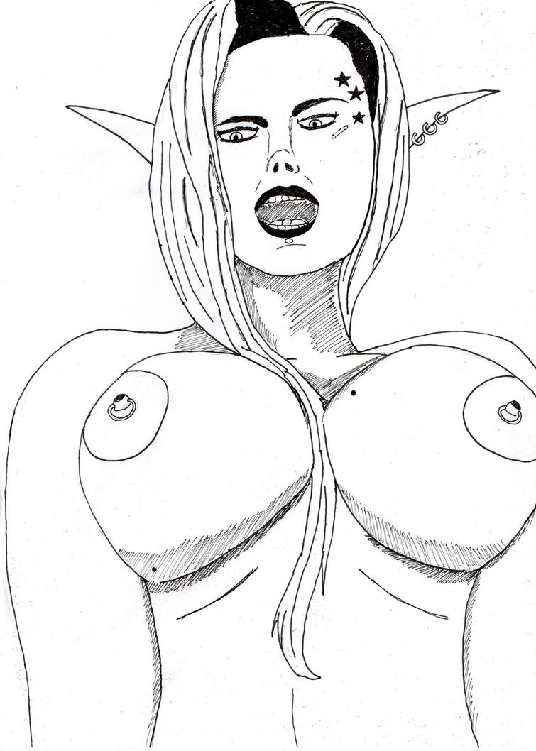 ELf tits by abrahell