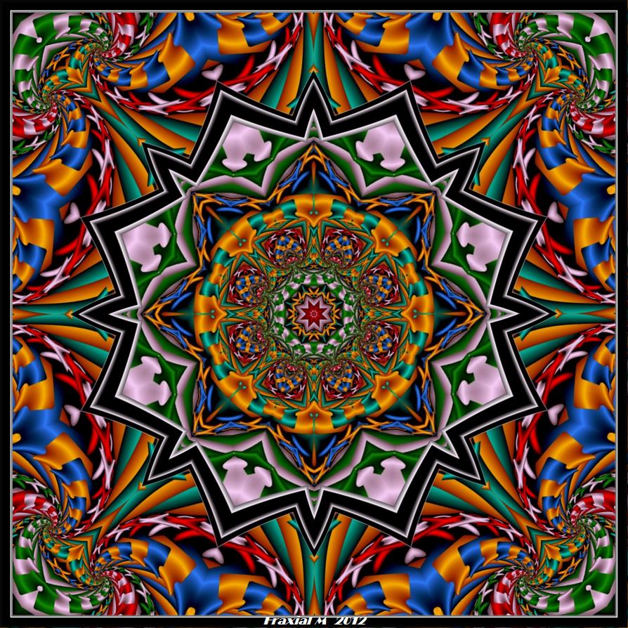 May Mandala by fraxialmadness3