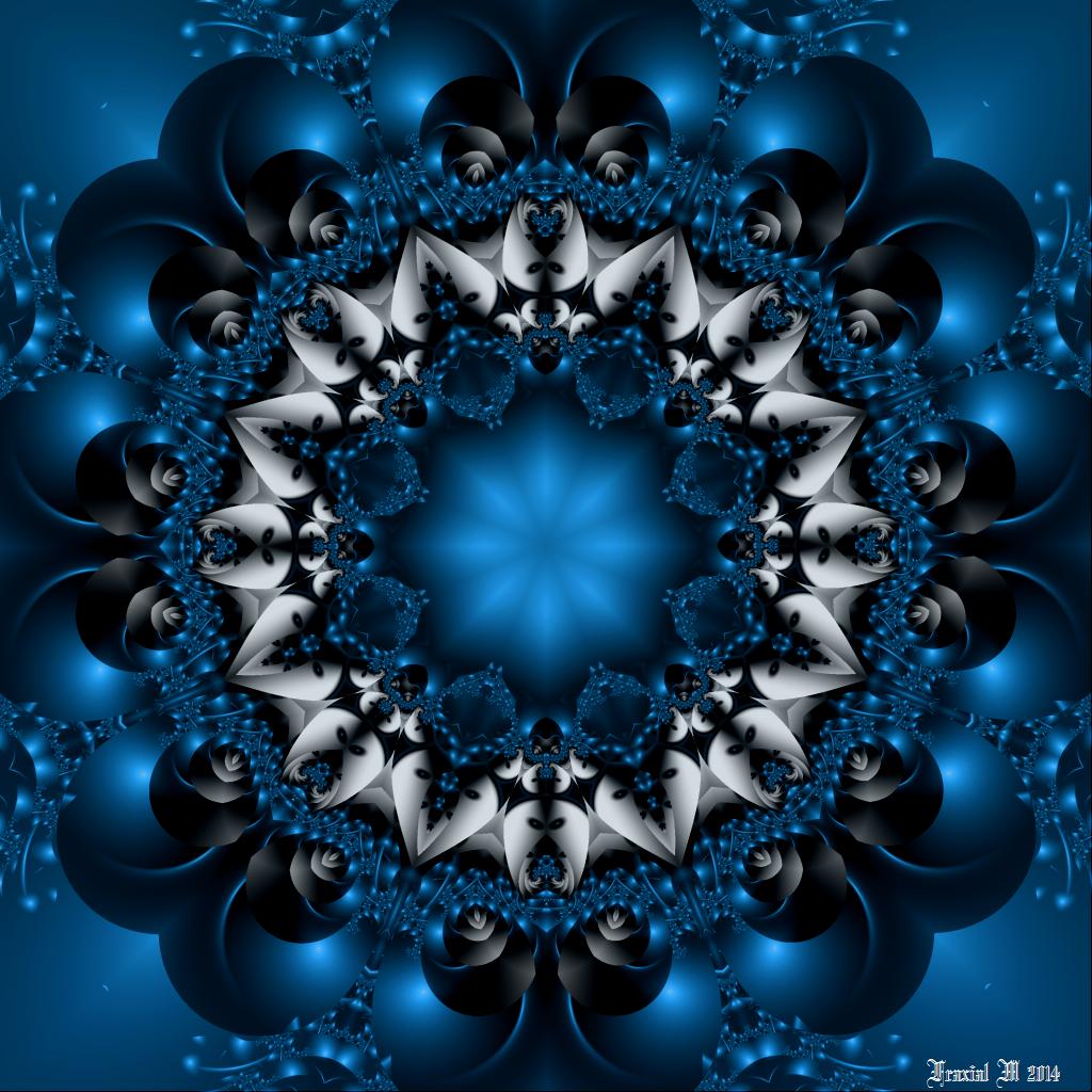 Saphirial Wisdom Mandala by fraxialmadness3
