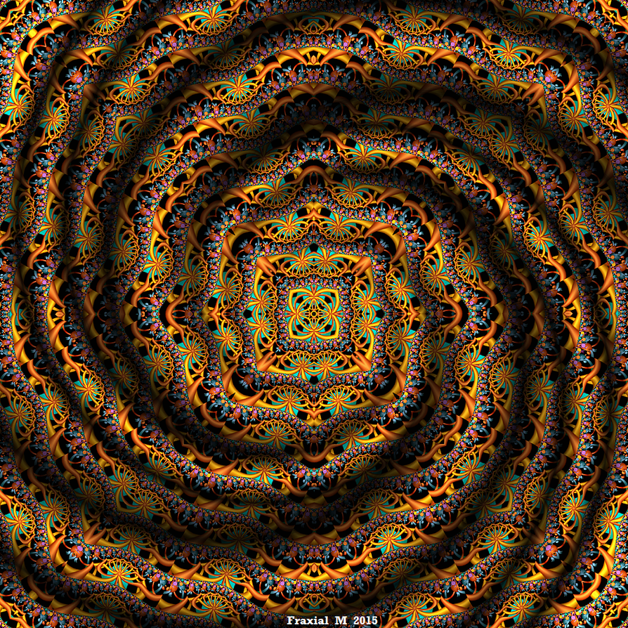 Spiral Mandala by fraxialmadness3