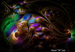 Crazy Cosmic Hologram by fraxialmadness3