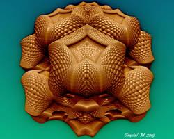 Mandelbulb Carnivorous Flower