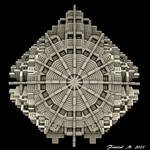 Menger Dreamcatcher by fraxialmadness3