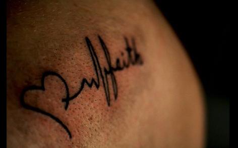 faith tattoo by cristyxbasle