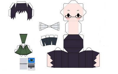 Switch Sket Dance - Papercraft by RyuuAraragi