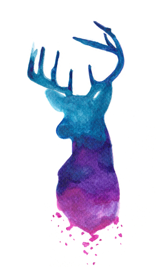 Stag by laitdepomme