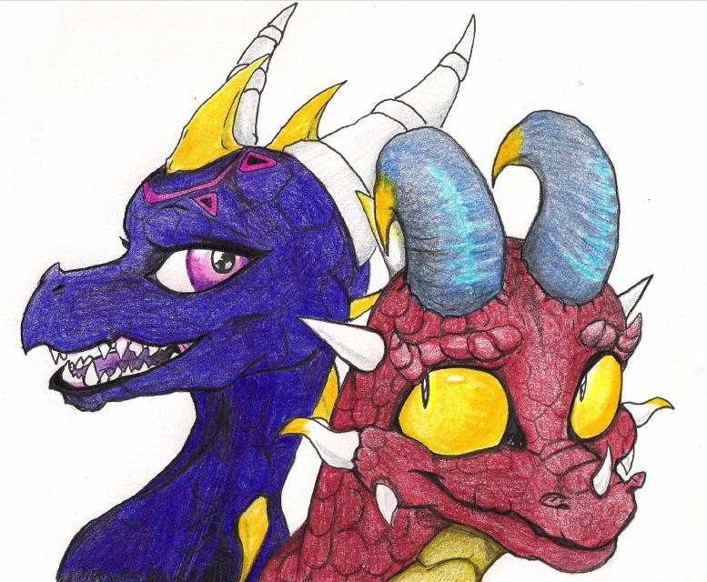 Dragon Buddies by Bordeaux42390