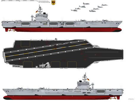 Erich Hartmann-Class (CVAN) -Top View