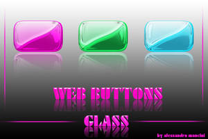 GLASS BUTTONS by AlessandroMancini