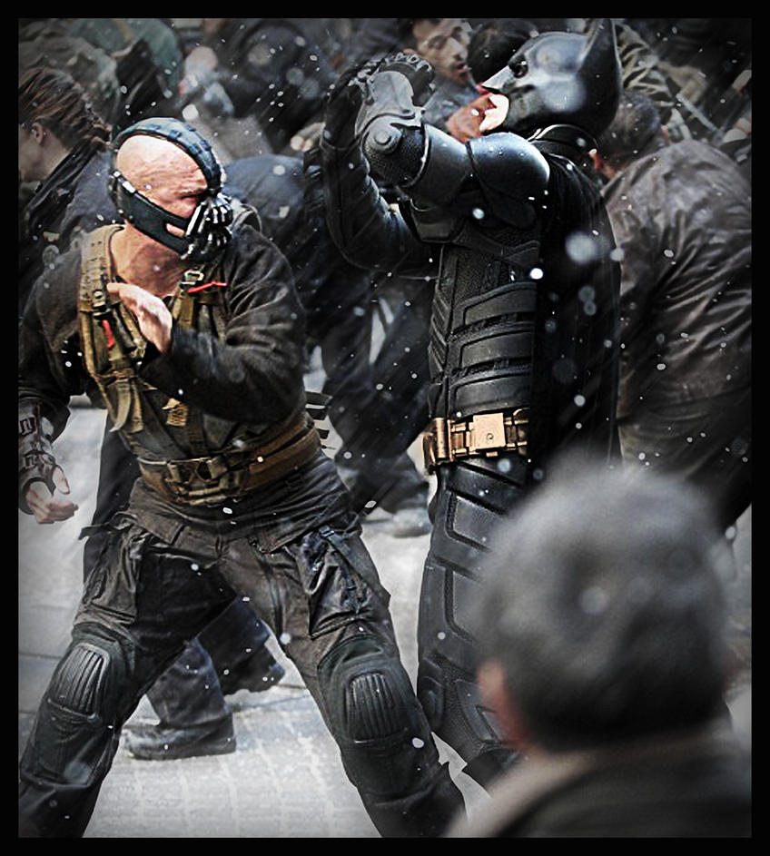 Bane vs Batman - The Dark Knight Rises by AlessandroMancini on    The Dark Knight Rises Batman Vs Bane
