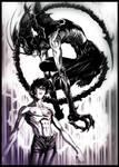Akira and Amon Devilman