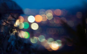 Light of the city - Bokeh by AlessandroMancini