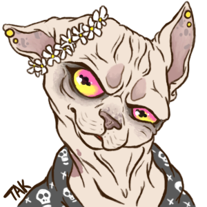 Takopus Bust- Plumwined Commission by TaksArt