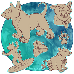 Bull Terrier Character Base AUTO-ED by TaksArt