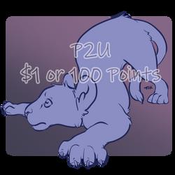 Lion Adopt Base - p2u - $1 or 100 points by TaksArt
