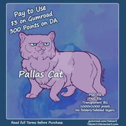 Pallas Cat - P2U Adopt Base