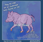 Boar - P2U Adopt Base
