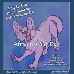 African Wild Dog - P2U Adopt Base