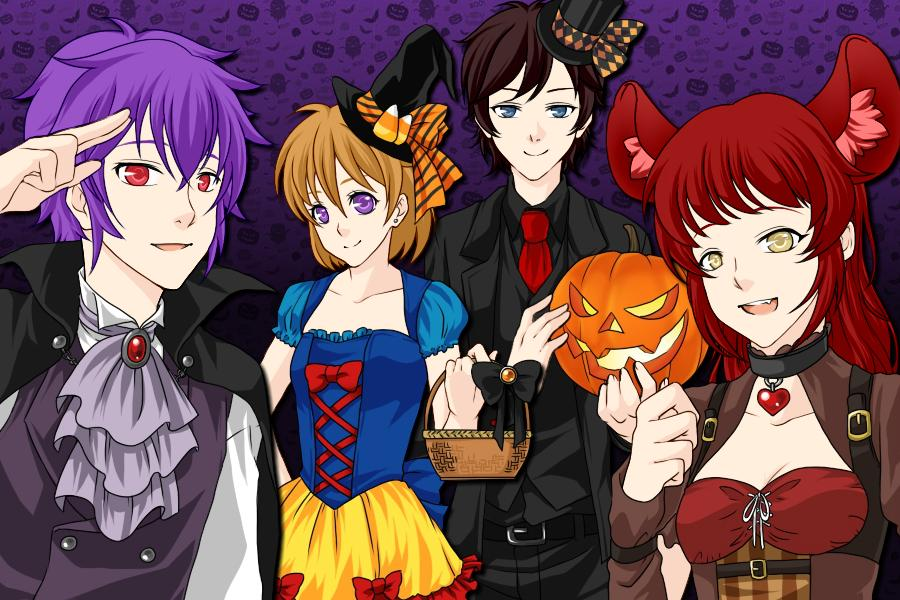 FNAF Halloween by MH2002 on DeviantArt
