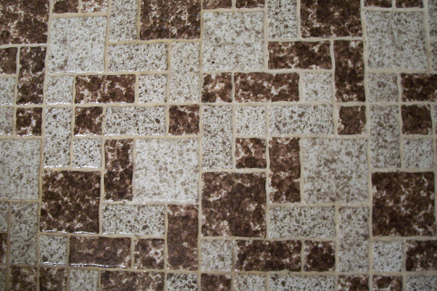 Retro Brown Tile by paintresseye