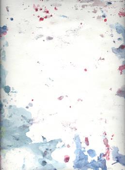 Blotchy Watercolor Paper