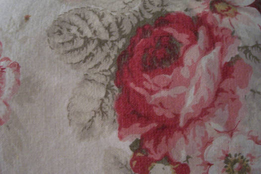 Rose Shabby Chic fabric