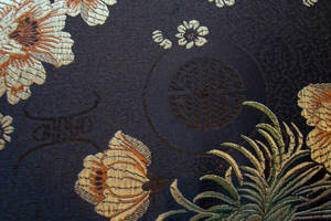 oriental vintage fabric