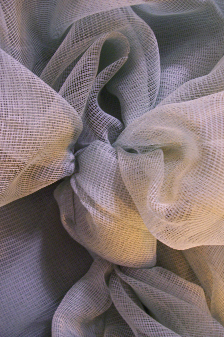 All netted up in Knot - fabric