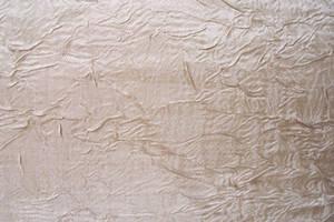 Crinkled wrinkled fabric stock