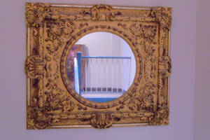Gilded Gold Mirror