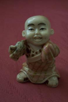 Netski Carved Oriental Man