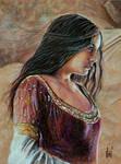 Arwen Undomiel by ZdenoSuchy