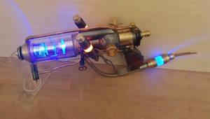 Steampunk Laser Blaster by Anselmofanzero