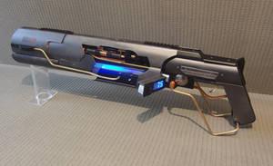 Custom laser rifle Mk III by Anselmofanzero