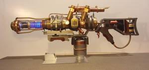 Steampunk Fallout Plasma Rifle
