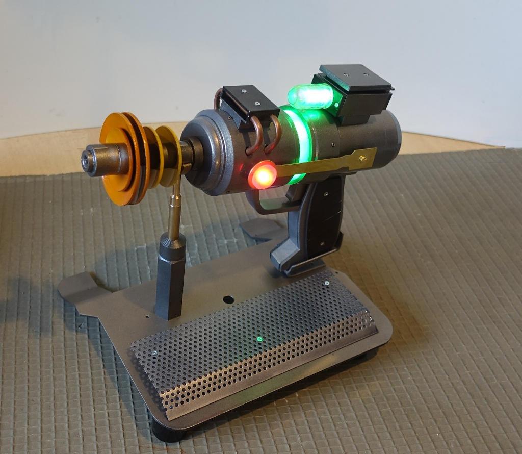 Rick and Morty Laser Gun No 2 front by Anselmofanzero on