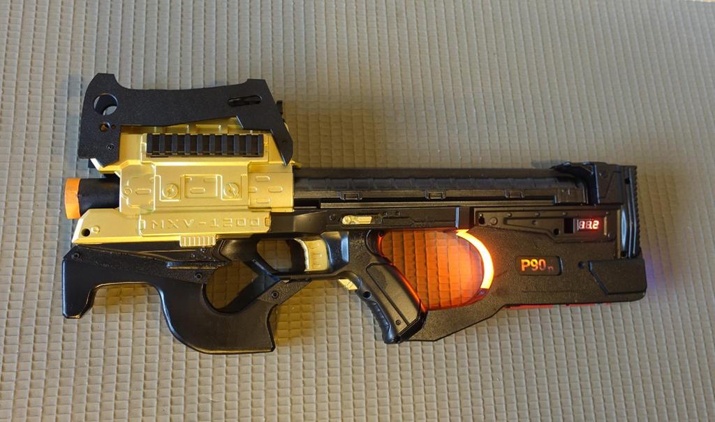 Nerf P90 Rival Zeus Mod by Anselmofanzero ...