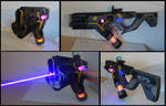 Cyberpunk Laser SMG Mk II