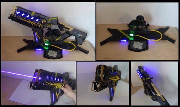 Cyberpunk Laser Rifle Mk 3