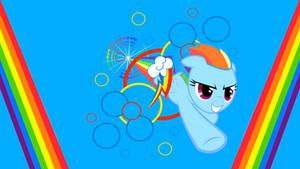 Sonic Rainboom [Wallpaper]