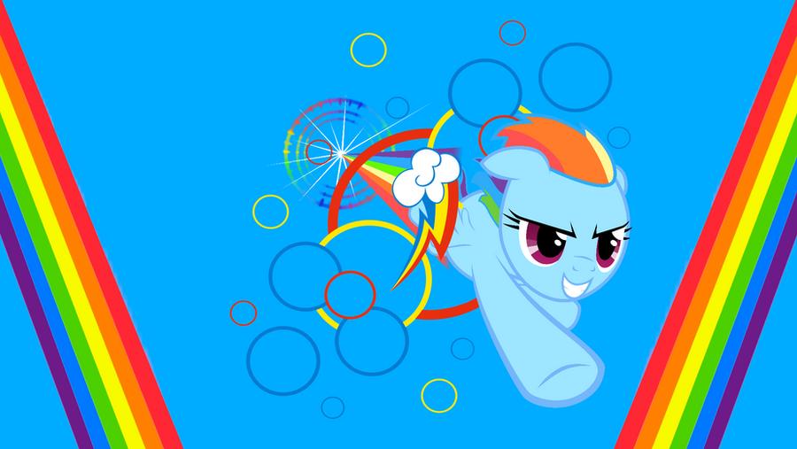 Sonic Rainboom [Wallpaper] by SonicRainBoomFTW