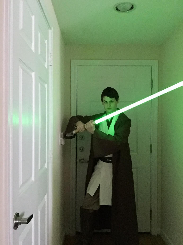 My Jedi Costume by SonicRainBoomFTW