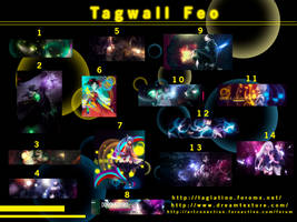 Tagwall enero 2013 by Horo-tuturuu