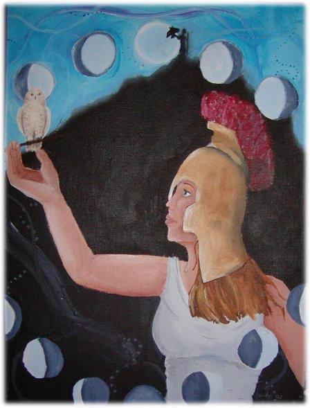 Athena by magickalmoon
