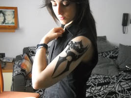 Fang's Tattoo [real] by UndiciSmaug