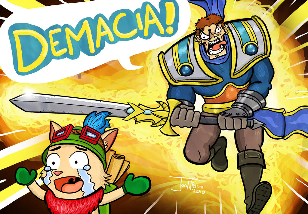 DEMACIA by EnciferART