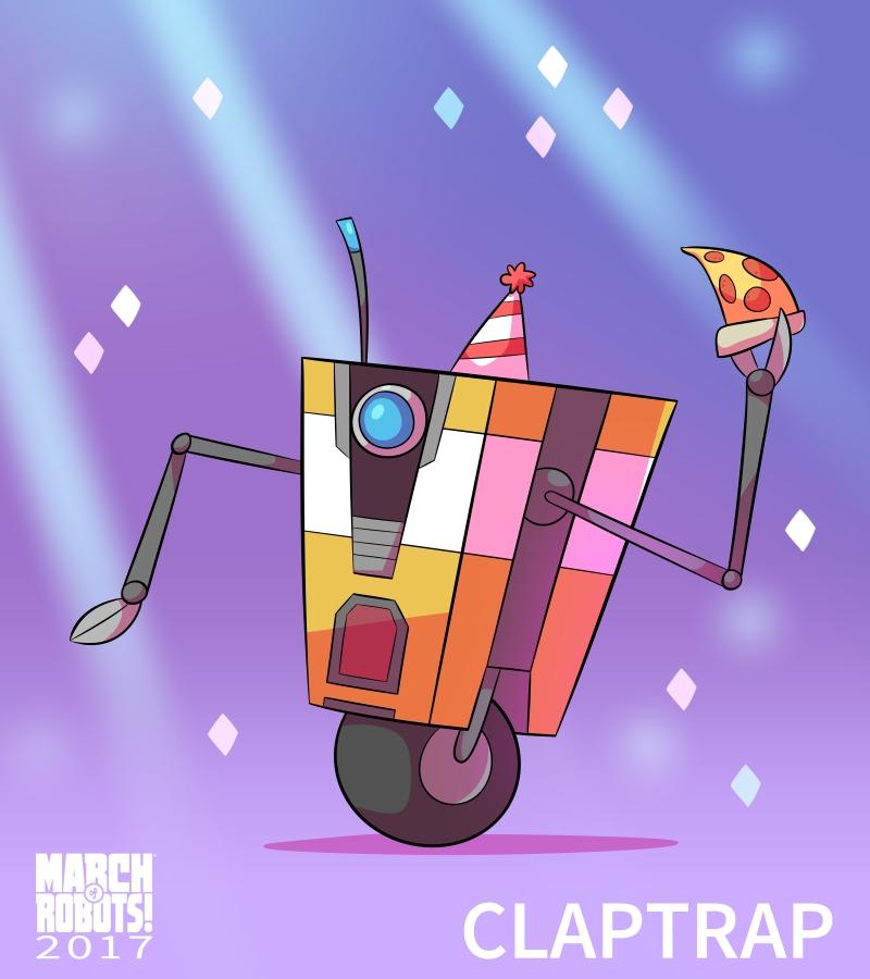 Claptrap by EnciferART