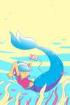 Mermaid BLUE REMIX