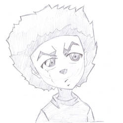 Huey Freeman (The Boondocks) by Alexander-LR